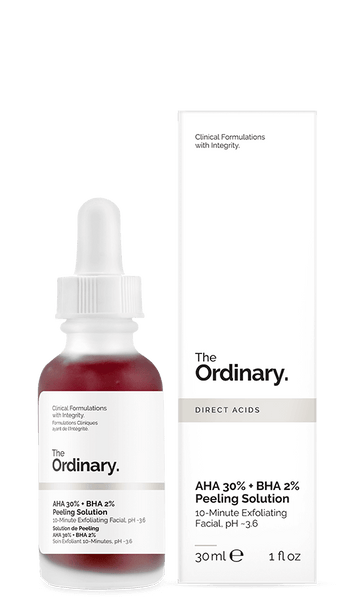 The ordinary 30%AHA+2%BHA果酸 去角质溶液 30ml