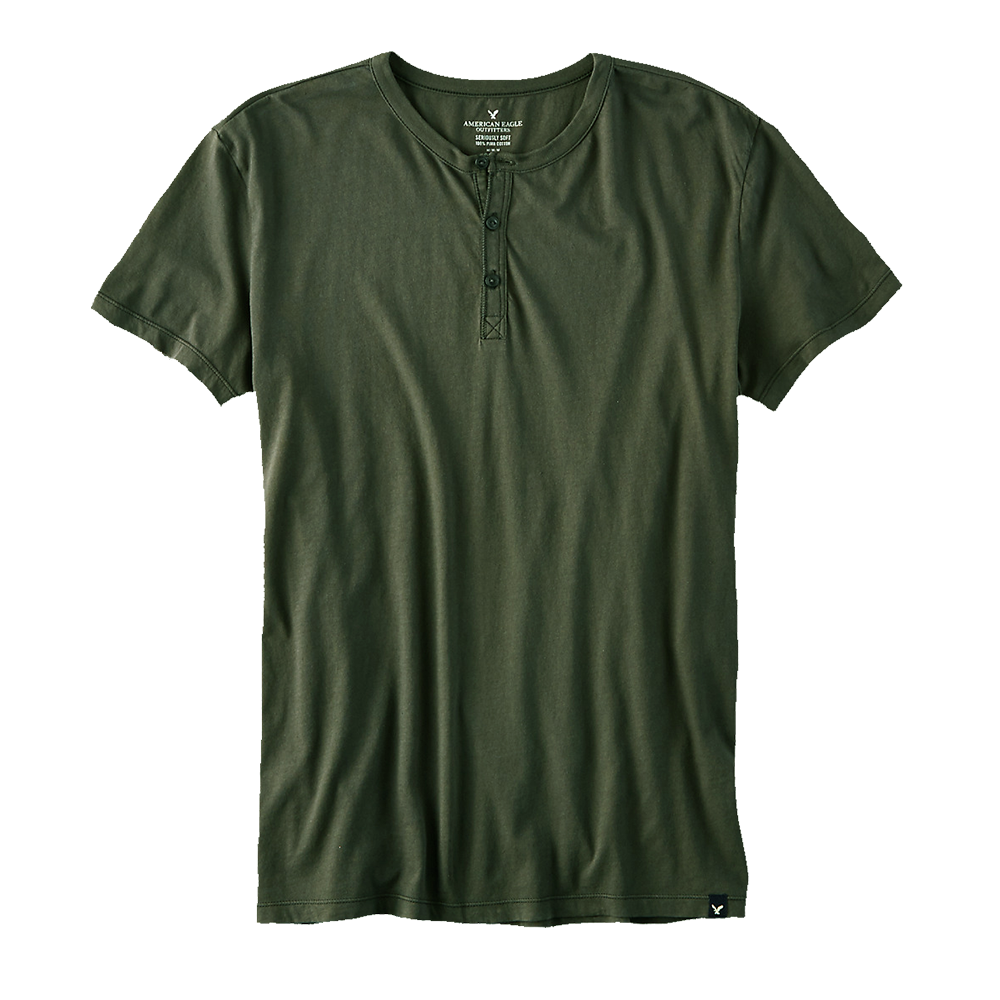 Men's plain brown t-shirt