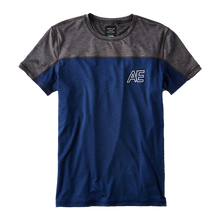 Men's blue & gray t-shirt