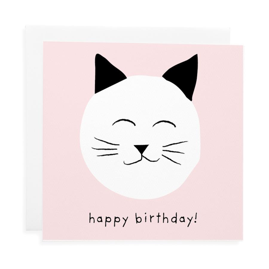 Meow Birthday Card