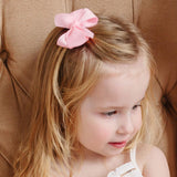 Small Grosgrain Pink Bows - Set of 2