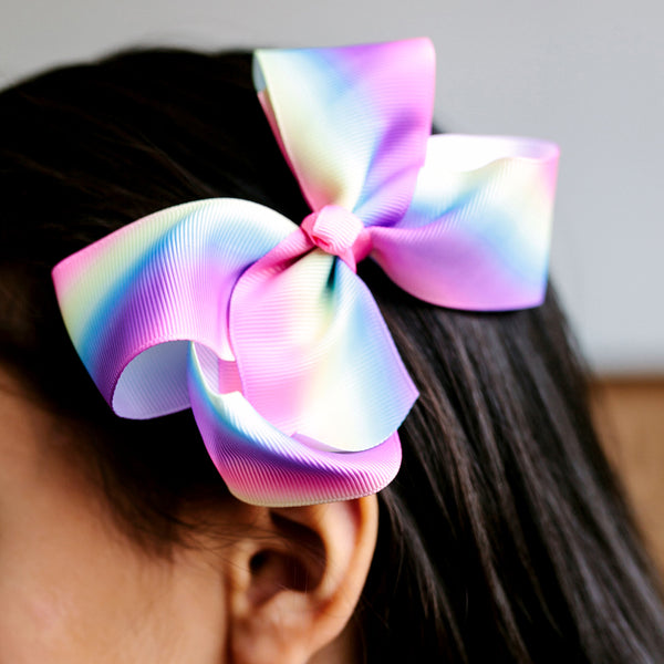 Large Grosgrain Paddlepop Bow