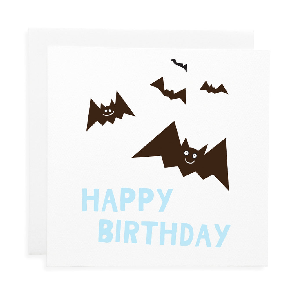 Bat Birthday Card