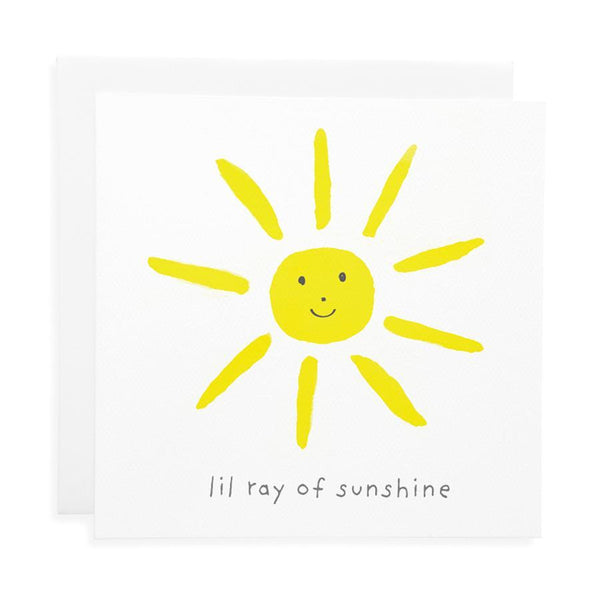 Lil Ray Of Sunshine Card