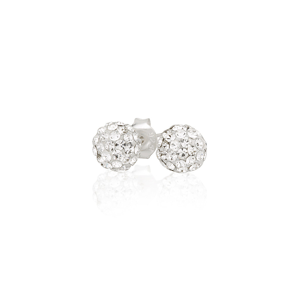 Diamante Ball Earrings