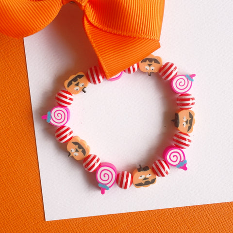 Trick or Treat Stretchy Bracelet