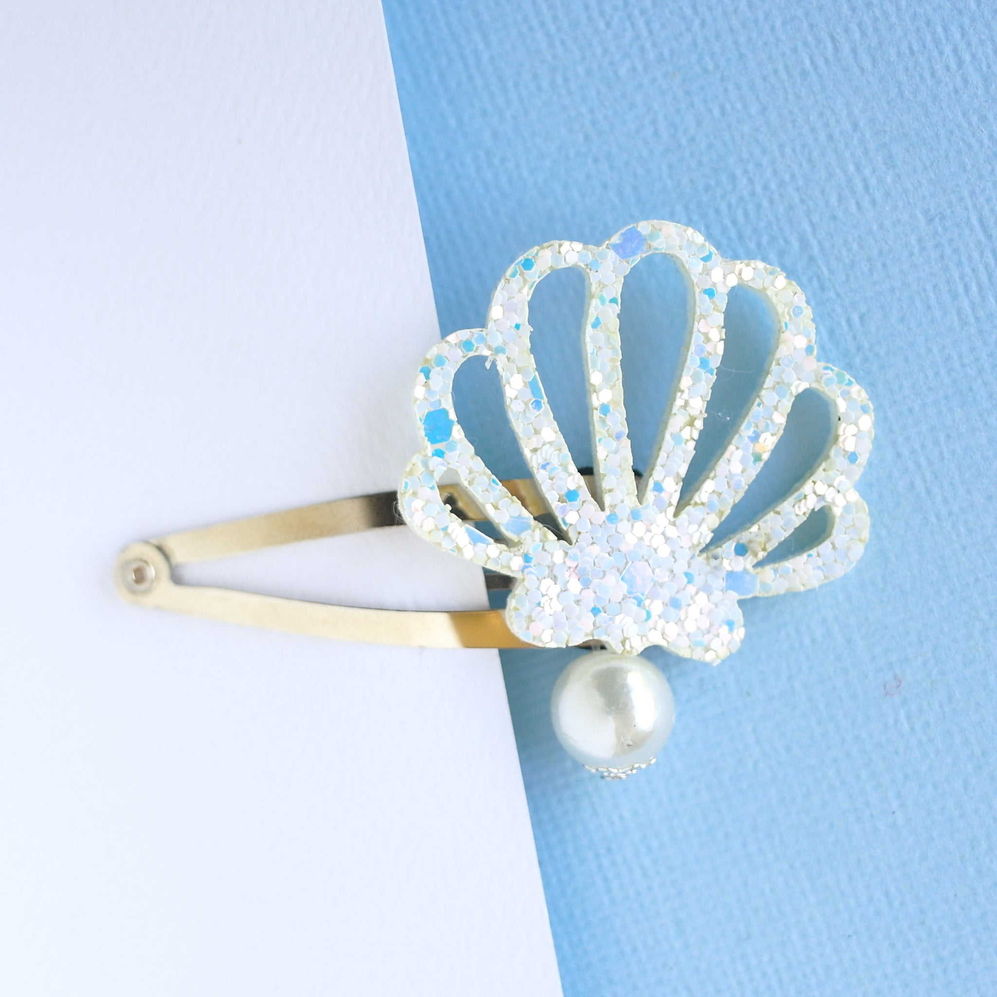 Mermaid Shell Clips