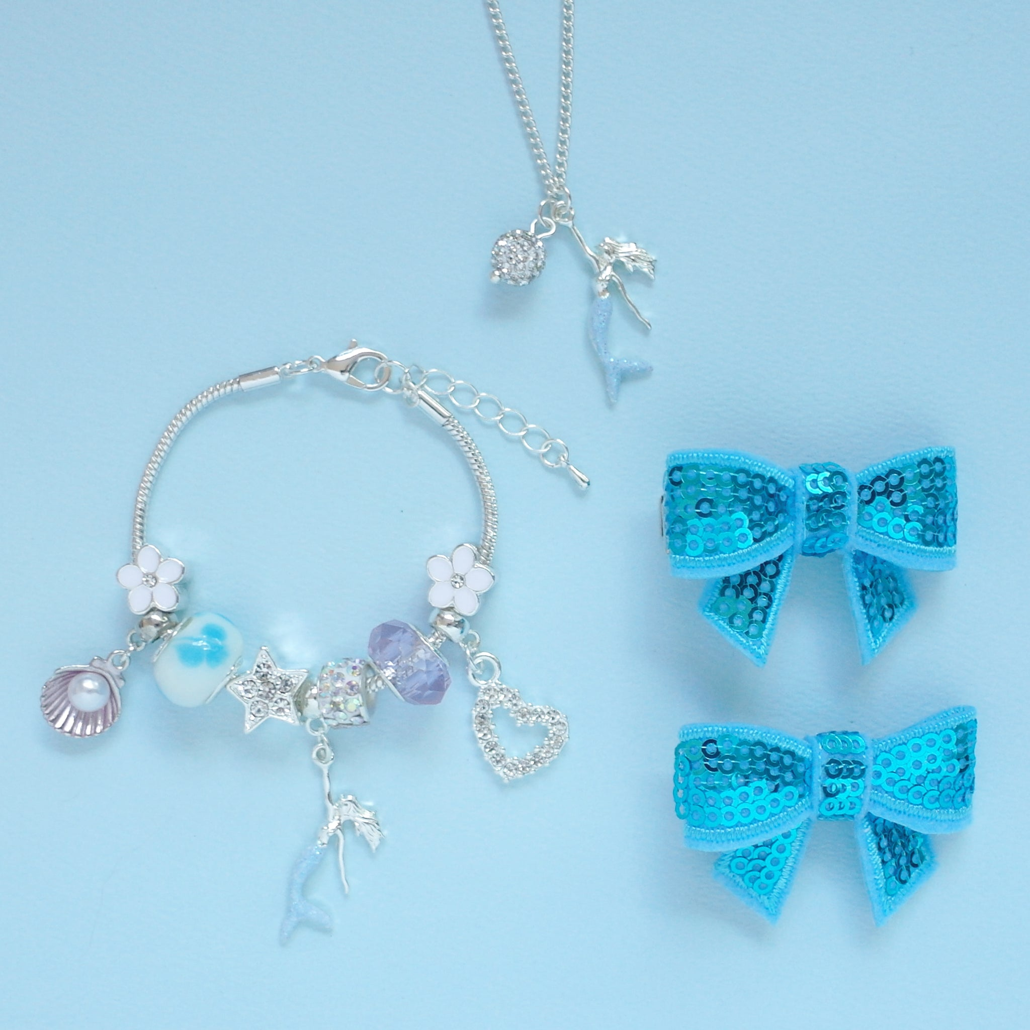 Mermaid Charm Gift Set