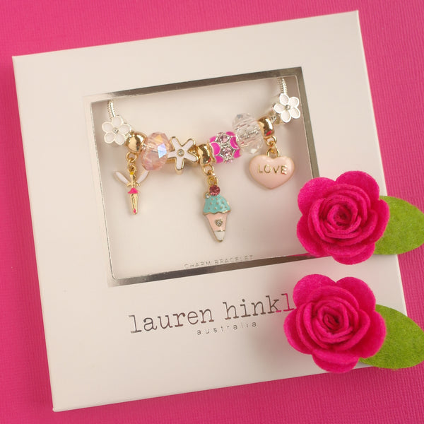 Sugar Plum Fairy Charm Bracelet- Back in stock 11th March