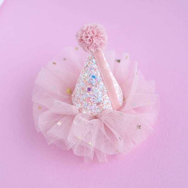 Party Hat Hair Clip - Preorder only 11th March Arrival date