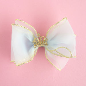 Blue Princess Bow