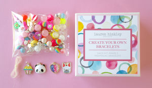 Make your Own Designer Bracelets Kit - Theme: Rainbow