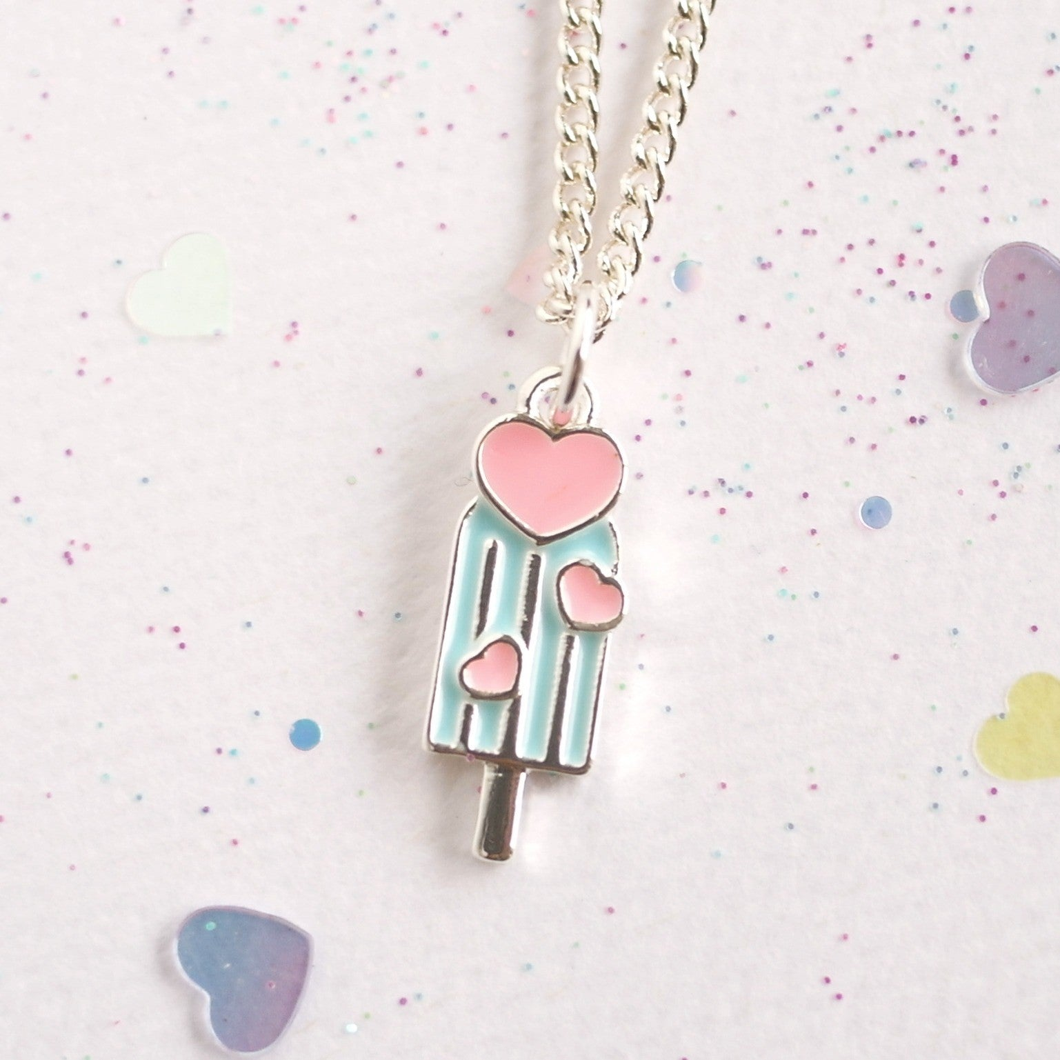 Pastel Ice Cream Necklace