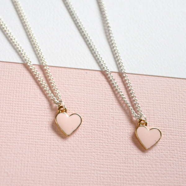Mother's Day | Mother - Daughter Set Heart Necklaces