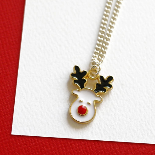 Rudolf Reindeer Necklace