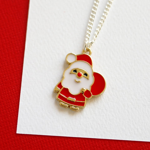 Santa Claus Necklace