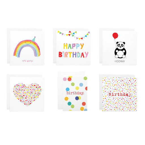 Bright Cards Set of 6