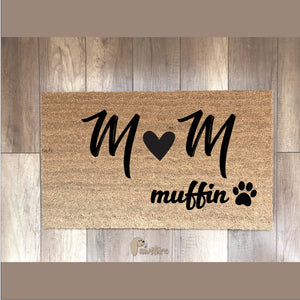 PERSONALIZED mat (initials)