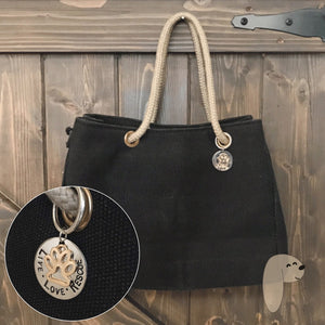 JETT rescue canvas tote - Pawsture Shop