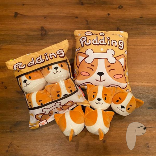 PUDDING puppers pillow plush - Pawsture Shop