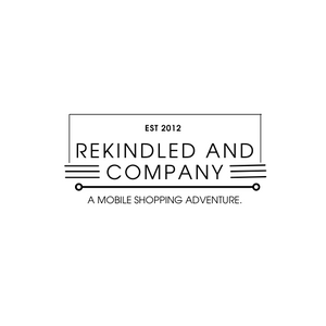 online ordering for ReKindled & Company, a mobile retail store in the midwest with vintage, handmade and curated home decor and gifts
