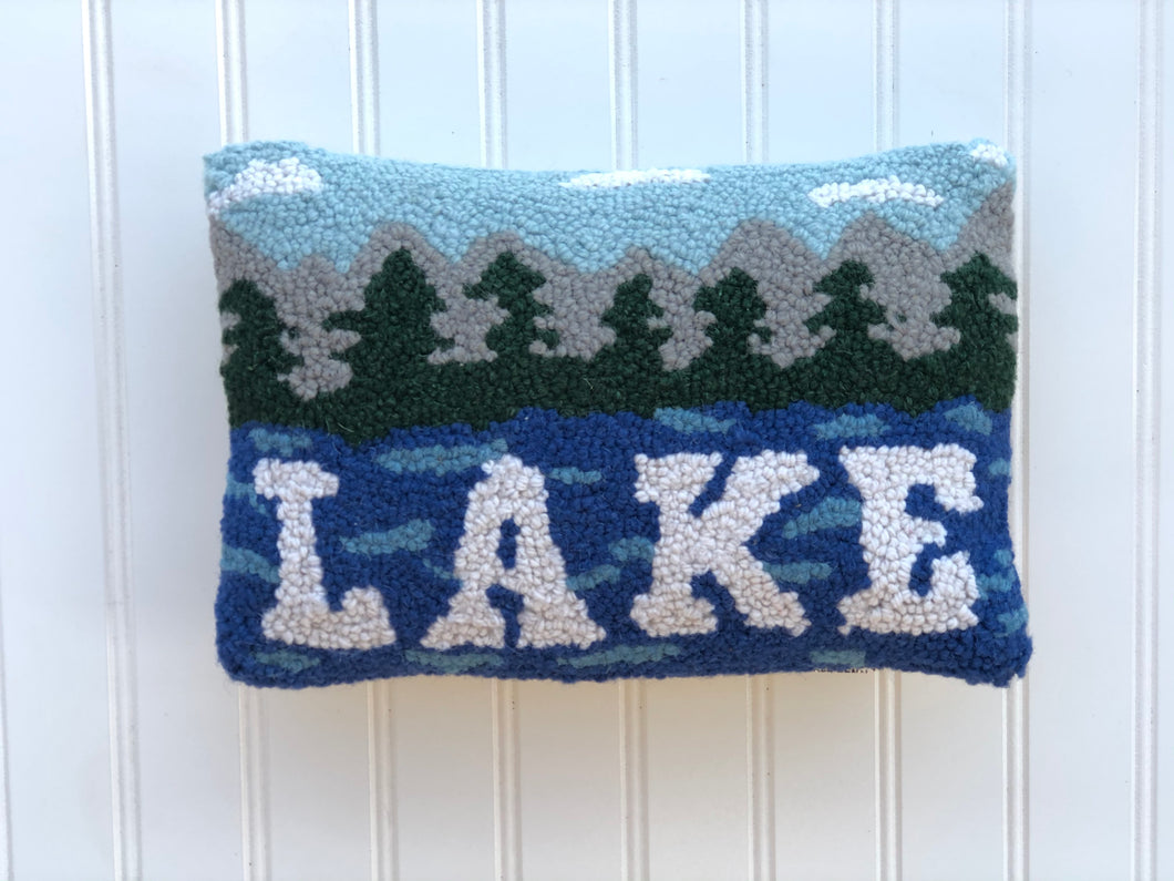Lake hook pillow