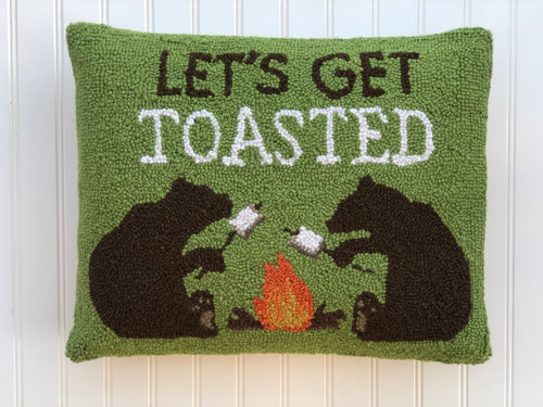 Let's Get Toasted pillow