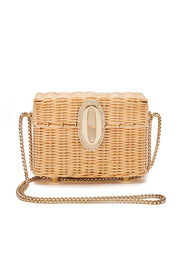 Poppy Wicker Basket Bag