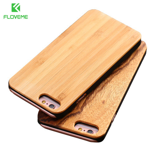 Wood Phone Case For iPhone, Accessories Bag