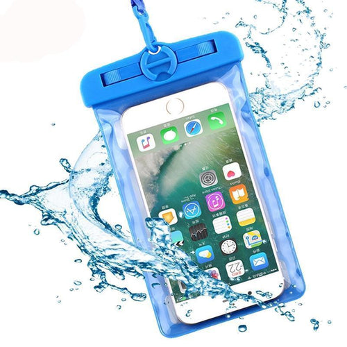 Universal IIPX8 Waterproof Transparent Phone Case Bag Pouch