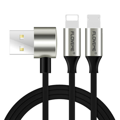 Lighting & Micro USB Android Apple Combo Elbow Fair Reverse Plug Data