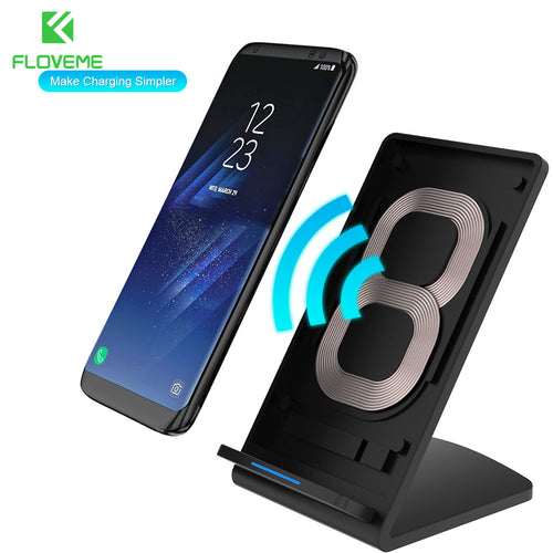 Brand Universal Qi Fast Wireless Charger For iPhone X 10 8 Plus