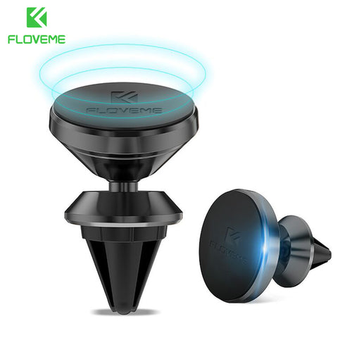 Universal Magnetic Car GPS Phone Holder 360 Rotation Magnet Air Vent