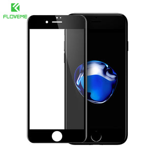 Tempered Glass Film Full Cover Screen Protector For iPhone