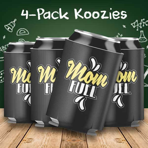 Mom Fuel 4-Pack Can Coolers