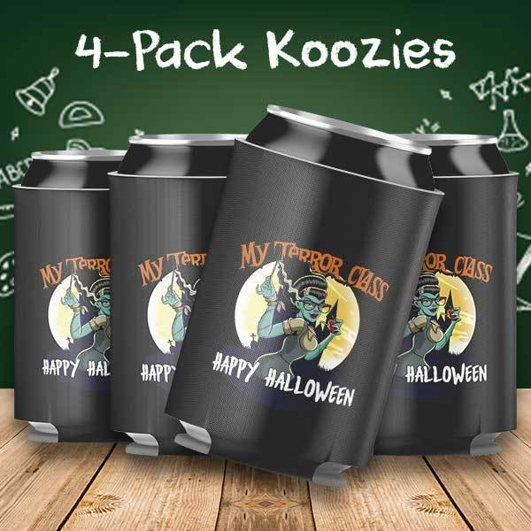 My Terror Class Halloween 4-Pack Can Coolers