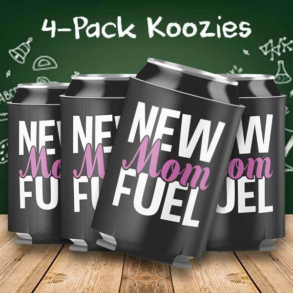 New Mom Fuel 4-Pack Can Coolers