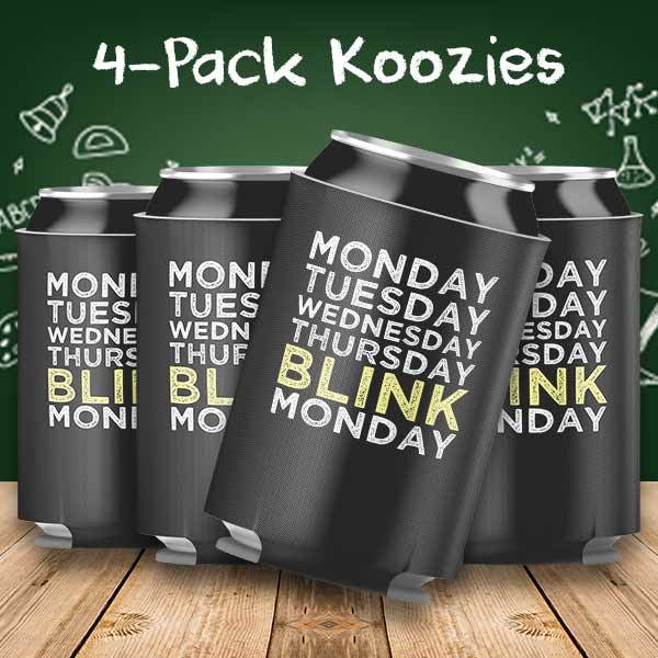 Weekend Blink Monday 4-Pack Can Coolers