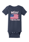 Mini 'Merican - Patriotic Baby Baby One Piece