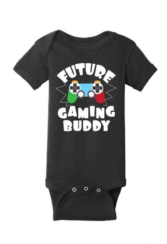 Future Gaming Buddy Baby One Piece