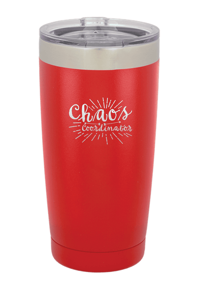 Chaos Coordinator Laser Etched Tumbler