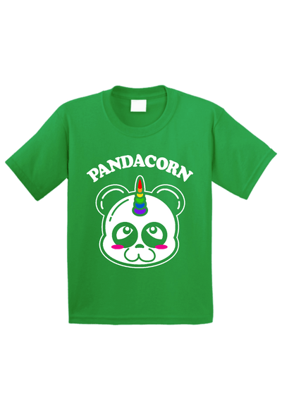 Pandacorn Panda Unicorn Toddler Shirt