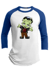 Cute Frankenstein Halloween Raglan