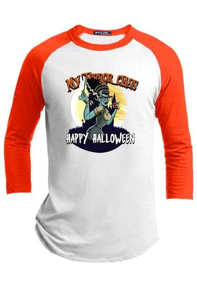 My Terror Class Happy Halloween Raglan
