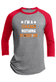 I am Teacher Nothing Scares Me Halloween Raglan
