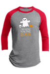 I am here for the Boos Halloween Raglan