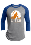 Bad Witch Halloween Raglan