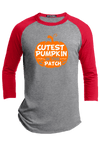 Cutest Pumpkin in the Patch Halloween Raglan