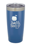 Bad and Boozy Halloween Tumbler