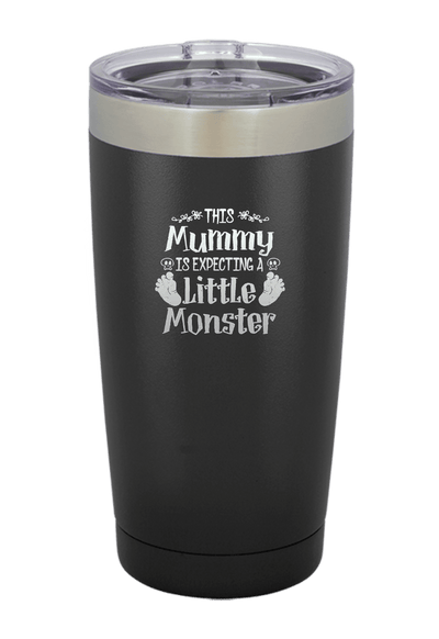 This Mummy is Expecting a Little Monster  Halloween Tumbler